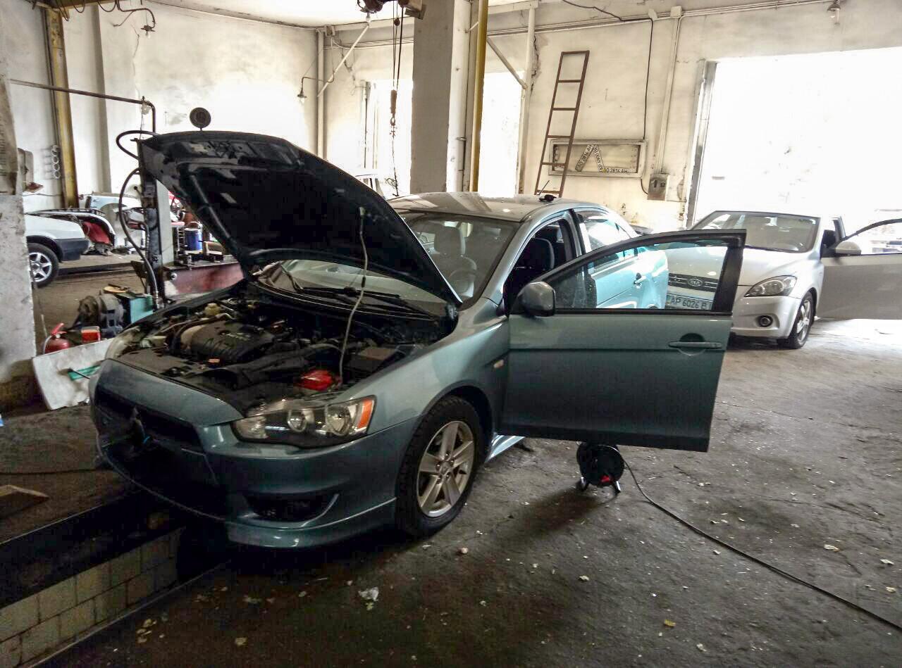 Удалить катализатор Mitsubishi Lancer X отключить Запорожье Днепр